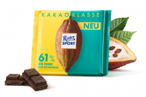 Ritter Sport Cocoa Selection 61% 100g